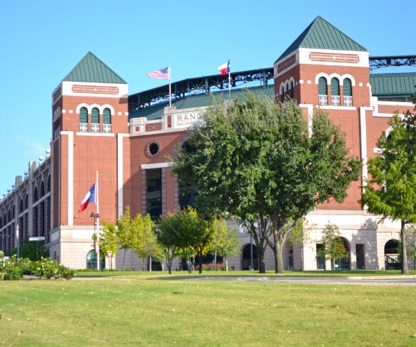 Arlington TX Ball park